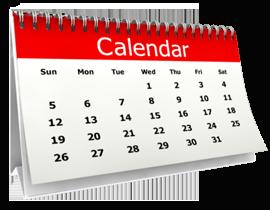 parent calendar for 2018 2019