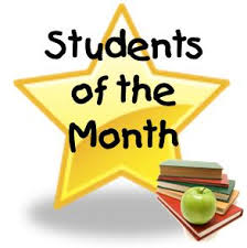 Student of the Month-click link for video