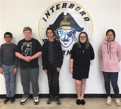 Interboro High School December Students of the Month