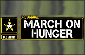 3rd Annual U.S. Army March on Hunger Food Drive