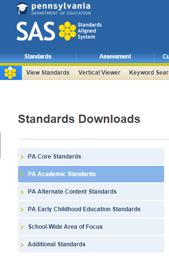 Other Academic Standards